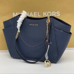 Michael Kors JST LG Chain Shoulder Tote Bag